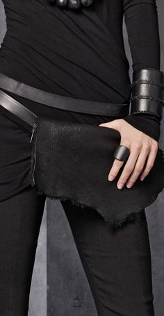 Visions of the Future: Donna Karan - Urban Zen - Accessory Belt Bag FW 2015