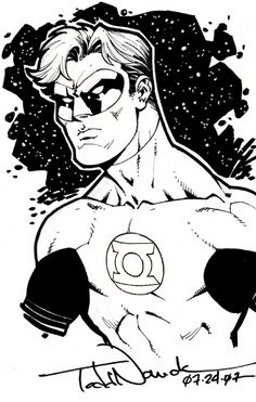 Green Lantern by Todd Nauck Comic Art