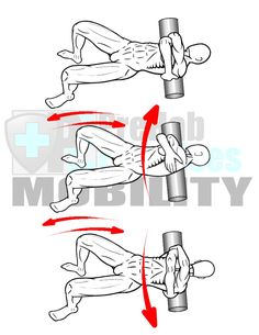 prehab-exercises-foam-rolling-the-rhomboids-mid-and-lower-trapezius-muscles-with-oscillations-for-thoracic-spine-mobility-and-alignment