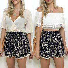 Shorts-saia super fofo para os dias mais quentes de verão! Apenas R$6990 a prazo ou R$6290 à vista.  Compre pelo site http://ift.tt/PYA077 ou mande um whats 47 99531716.