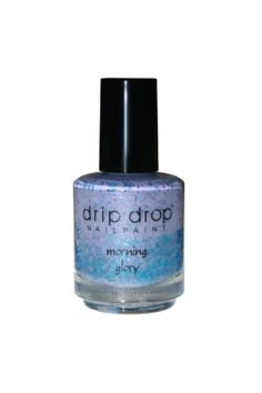 """""""morning glory"""" is a lavender crelly full of 5 different shades of tiny blue glitters, as well as scattered holo dust. This is beautiful in the sunshine, for sure!! Opaque in 2-3 thin coats.  Available in full size (15ml) Limited supply. This is a 3-free handmade nail lacquer  Swatch 1: """"mo..."""