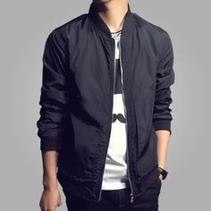 2016 New Arrival Spring Men\'s Jackets Solid Casual Men\'s Blazer  M-XXXXL