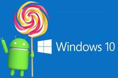 """Se ha dispara un nuevo rumor referente a Windows 10 y es que una fuente confiable """"Paul Thurrott"""" el cual es un periodista dedicado al mundo Micrososft y muy cercano acontecimientos en Microsoft menciona que la próxima Build de Windows 10 dejaría abrir aplicaciones Android."""