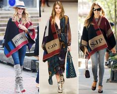 The Burberry Blanket Poncho