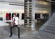 Victoria's namesake boutique takes on a minimalist approach without any tills or elaborate window displays