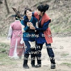 korean drama quotes | gu family book. So cute! Loved this drama!