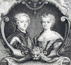 Louis XV and Marie Leczinska