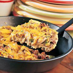 Veggie Sausage-Cheddar Frittata - Diabetes-Friendly Meatless Recipes - Health Mobile
