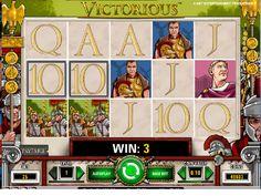 Výherné hracie automaty Victorious - Victorious výherný hrací automat je 5 valcový, 20 radový video automat, ktorý ponúka 243 spôsobov výhry.  #HracieAutomaty #VyherneAutomaty #Jackpot #Vyhra #Victorious - http://www.slovenske-casino.com/online-kasino-hry/vyherne-hracie-automaty-victorious