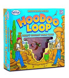 HooDoo Loop Puzzle Top Toy Review