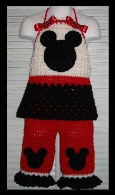 Baby Fashionista: Crochet Disney - Minnie