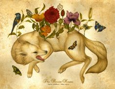 The Flower House repinned from blog Animalarium August 2012
