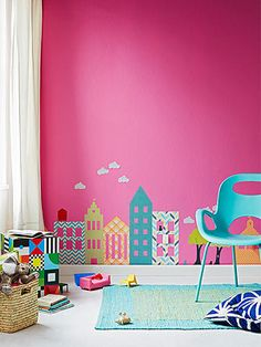 DIY Wall Decals. Super easy craft to make your own unique decals for your home