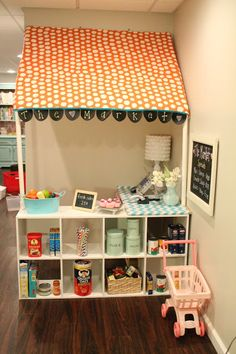 So Cute! A play market for GG's playroom! YESSSS