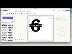 ScanNCut Canvas Split Number Tutorial - YouTube
