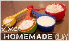 Best Homemade Clay: It's better than cooked Cold Porcelain Clay