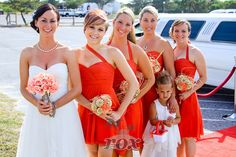 Bridal Party Limo at Assateague Island by Rox Beach Weddings:  http://roxbeach.com/