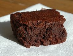 I got this recipe from TGIPaleo.com These brownies are rich, just the right amount of chocolatey-ness and very moist.   The perfect go to recipe for when you want just a little something sweet. Wet…