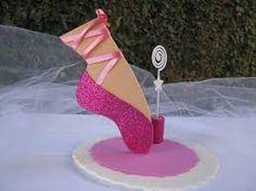 Resultado de imagem para decoração para mesa de aniversario tema bailarina pinterest