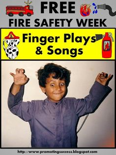 Visit this classroom teacher blog for FREE fire prevention safety week finger plays and songs for teaching elementary children. These fun activities work well for back to school, an October lesson plan or social studies community helpers unit study.