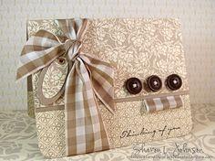 ssnotime79 Bella Bleu Gingham by notimetostamp - Cards and Paper Crafts at Splitcoaststampers