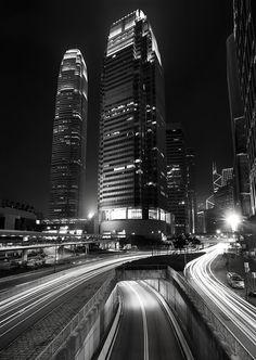 Hongkong & Kowloon night & day cityscapes.