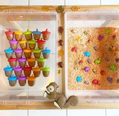Squirrel Sensory Bin🐿 We love the way @learning.through.wander created this adorable hands-on activity combining #sensoryinput and #finemotorskills with #earlyliteracy! Did we mention you can add counting for #earlymathlearning? The #Sneaky SnackySquirrelGame is our best-selling #boardgame! Preschoolers learn color recognition Learning Games For Preschoolers, Fine Motor Activities For Kids, Fun Fall Activities, Hands On Activities, Play Based Learning, Learning Through Play, Fun Learning, Preschool Age, Preschool Learning