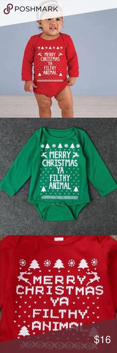 COMING SOON Infant & toddler onsie 0-6 months - 3T DO NOT PURCHASE YET! These will be in right before thanksgiving! If you'd like to buy a sweatshirt, onsie, or both, please leave size & colored desired & I'll tag you in once they're available. I have limited sizes, so please serious buyers only! Also check out my other listings & get matching mommy & me sweatshirts that are  off the shoulder, relaxed fit, comes in XS, S, M, L, XL, runs TTS. Infant & toddler onsie comes in 0-6 months, 6-12…