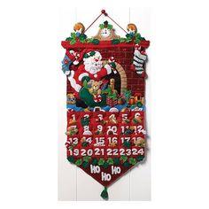 Calendario D Adviento Bucilla Original 13×25 Pulg Navidad