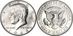 most collectible us coins | Most Valuable Kennedy Half Dollar 1964-Date Silver Clad Coin Values | goldankauf-haeger.de