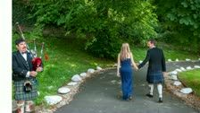 Tim & Helen's wedding at Knockderry Country House Hotel, Cove, Helensburgh.