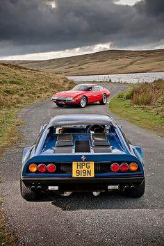 A pair of Ferraris. Photo by James Lipman.