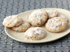 Polvorones: Ground Walnut Cookies recipe from Marcela Valladolid via Food Network