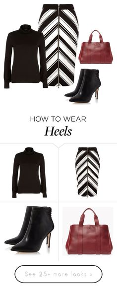 """Chevron sense!"" by lollahs on Polyvore featuring River Island and Theory"