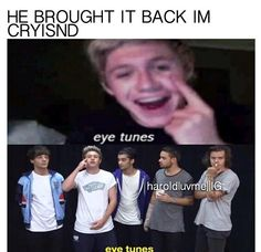 AWEWEWE This always gets me. niall horan eyetunes directioners one direction ASDFGHJKL
