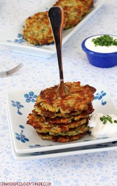 Baked Broccoli Cheese Rice Fritters