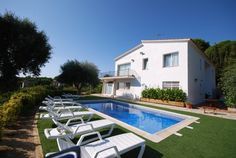 Villa La Montgoda is a friendly exquisite villa. The villa contains 7 bedrooms, 4 bathrooms, 4 kitchens, a private pool, a fixed barbecue and a lavish garden.
