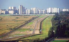 Berlin Wall no mans land