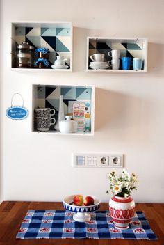 ber ideen zu regal aus weinkisten auf pinterest. Black Bedroom Furniture Sets. Home Design Ideas