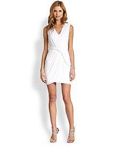 B44 DRESSED Ajadir Cross-Front Dress