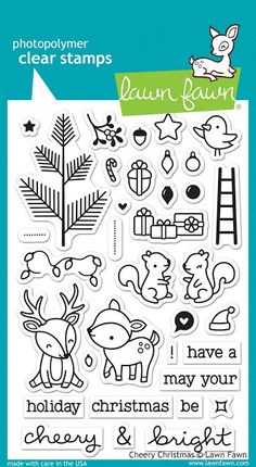 Have fun creating a fun kid's birthday card or gift with the Beep Boop Birthday Clear Acrylic Stamp Set by Lawn Fawn. This stamp set coordinates with the Lawn Happy Turtle, Lawn Fawn Blog, Tampons Transparents, Lawn Fawn Stamps, Interactive Cards, Interactive Notebooks, Get Well Cards, Clear Stamps, Paper Crafting