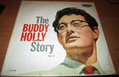 1960 Lp Buddy Holly THE BUDDY HOLLY STORY Volume 2 On Coral CRL 57326 MAROON LABEL.. Buddy Holly is perhaps the most anomalous legend of '50s rock & roll -- he had his share of hits, and he achieved major rock & roll stardom, but his importance transcends any sales figures or even the particulars of any one song (or group of songs) that he wrote or recorded. Holly was unique, his legendary status and his impact on popular music all the more extraordinary for having been achieved in barely 18