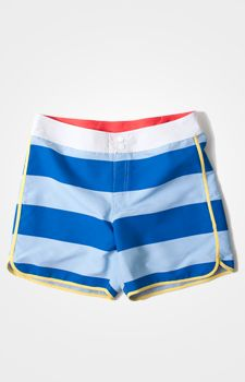 these are the most adorable swimming trunks, though I assume they'd be too short for me.
