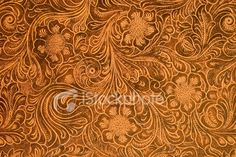fancy tooled leather