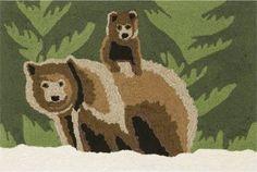 bear welcome mat