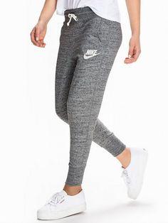 Nike Gym Vintage Pant - Nike - Carbon - Bukser & Shorts - Klær - Kvinne - Nelly.com Str. L