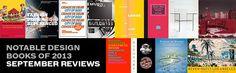 2013 Notable Design Books