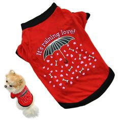 2016 dog clothing Pet Dog clothes small Costume cheap wears Clothes T-shirt Summer chihuahua products for dogs