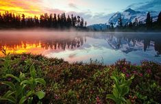 30+ Wonderful Lake Reflection Photography Ideas