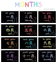 mois japonais